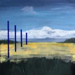 ruimte pigment blauw